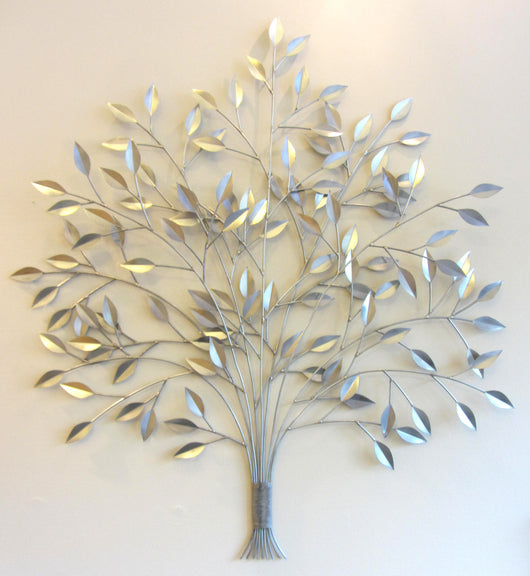 Full And Fresh Tree Wall Sculpture