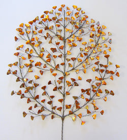 Ginkgo Burst Wall Sculpture