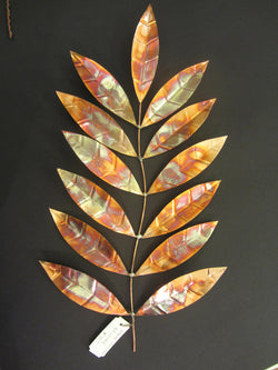 Hoyan Copper Patinated Leaves