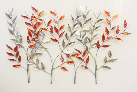 Silver and Copper Birch Branches