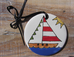 Summer Sailing Ornament