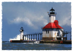 St. Joseph Lighthouse Giclee