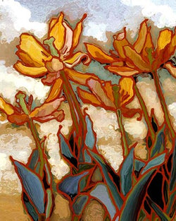 Holland Tulips II Giclee