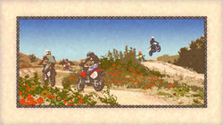 Dirt Biking on a Summer Day Giclee