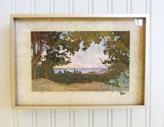 Mount Pisgah II Giclee Framed