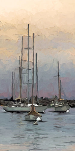 Resting Vessels Giclee