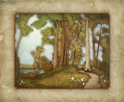 Sanctuary Woods Giclee
