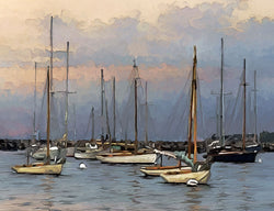Still Harbor Giclee