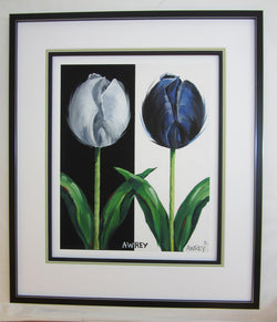Tulip Time 2018 Giclee Framed Contemporary Float