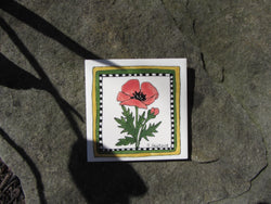 Poppy Ceramic Tile