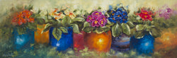 Primrose Jewels Oil Painting