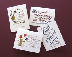 Inspirational Quotes Notecards