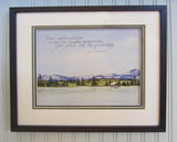 Your Righteousness Framed Giclee