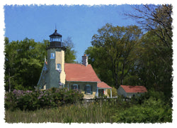 White River Light Station Giclee