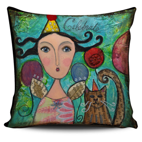 Fairy Birthday Pillow Cover