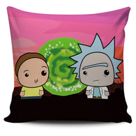 Rick and Morty Pillow Cover