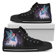 Fairy Womens High Top Shoes