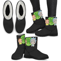 Rick and Morty Fur Boots