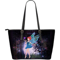 Fairy Large Leather Tote Bag