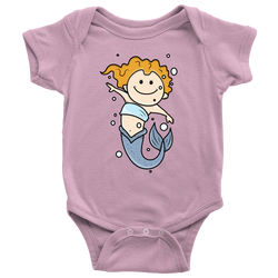 Mermaid Baby Onesie