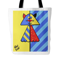 Alex Vera Cat Tote Bag