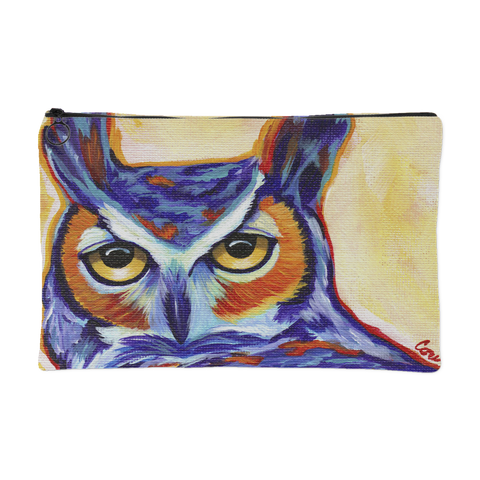 Owl Accessory Pouch