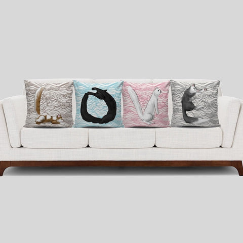 LOVE Cats Pillow Covers GIVEAWAY