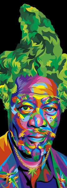 Marijuana Morgan Freeman Yoga Mat