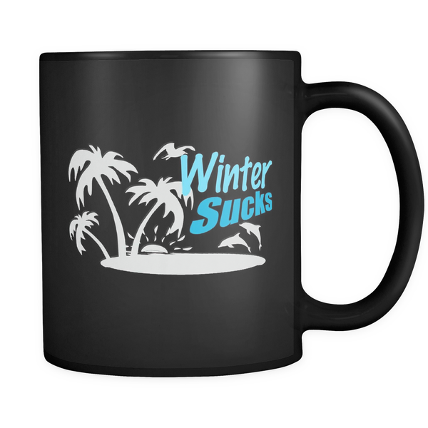 Winter Sucks Coffee Mug