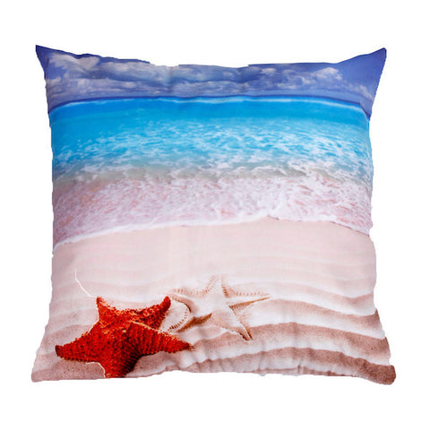 Beach Pillow Cover GIVEAWAY