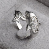 Sterling Silver Dolphin Ring GIVEAWAY