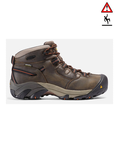 Men's Detroit Mid Soft Toe - Black/Olive 1007009