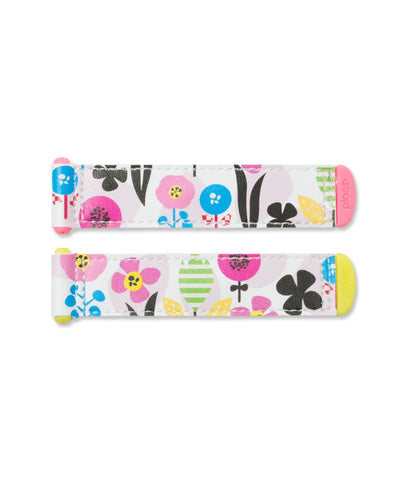 Bouquet Flowers Tabs - White/Floral 201072/617