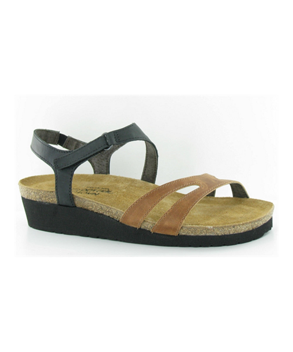 Women's Janis Sandal - Oily Coal/Maple Brown 4005SEA