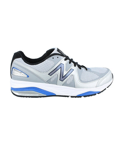 Men's 1540 Running v2 - Silver/Blue M1540SB2