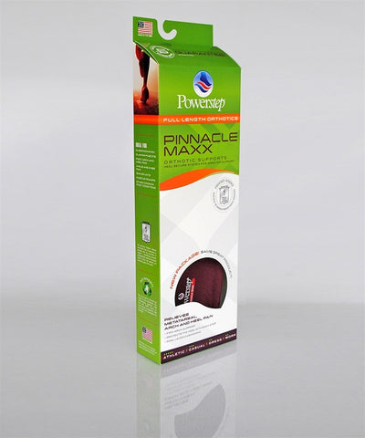 Powerstep Pinnacle Max - Maroon