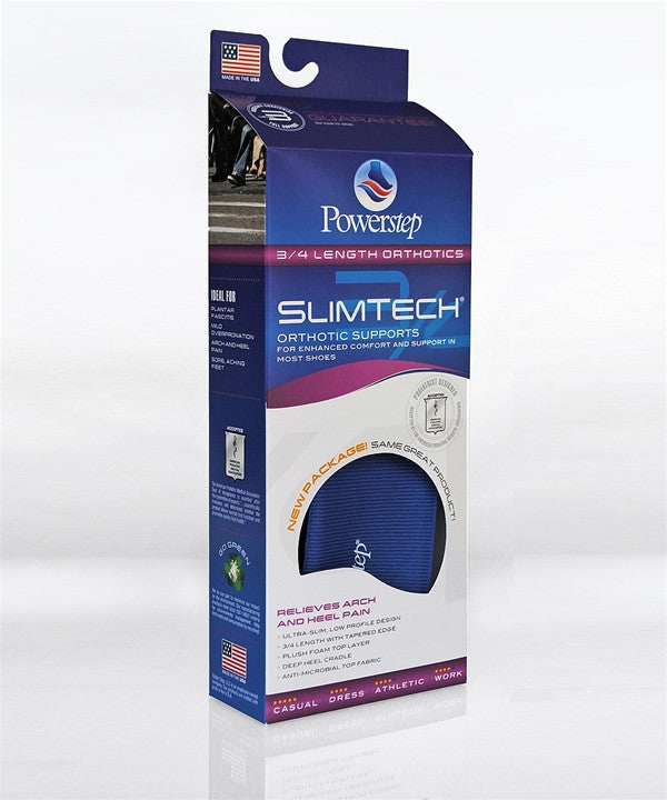 Powerstep Slim Tech 3/4 - Blue