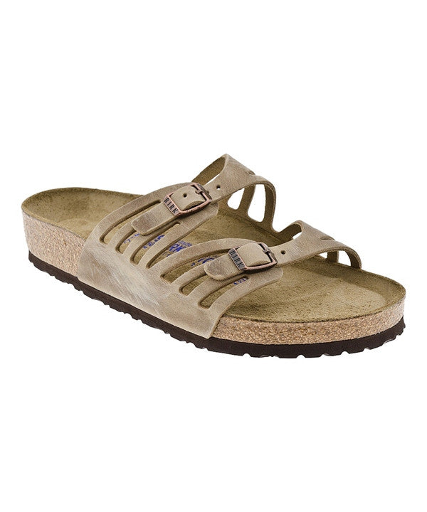 Women's Granada Soft Footbed - Tobacco Leather 9288