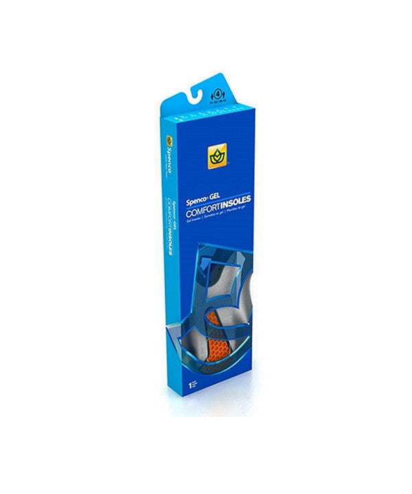 Spenco Blue Gel Insoles - Blue 39/818