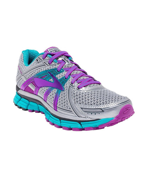 Women's Adrenaline GTS 17 - Silver/Purple/Bluebird 120231055
