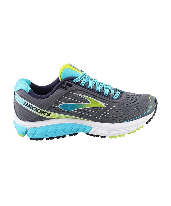 Women's Ghost 9 - Silver/Blue/Lime 120225151