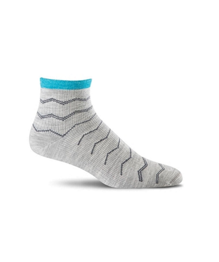 Women's Plantar Ease Quarter - Grey SW14W800