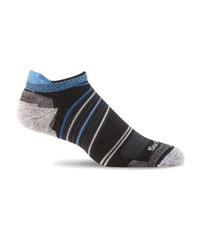 Men's Pacer Micro Compression Sock - Black SW45M900
