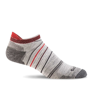Men's Pacer Micro Compression Sock - Light Grey SW45M800