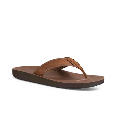 Men's Azure Leather Flip - Brown 1015131/BRN
