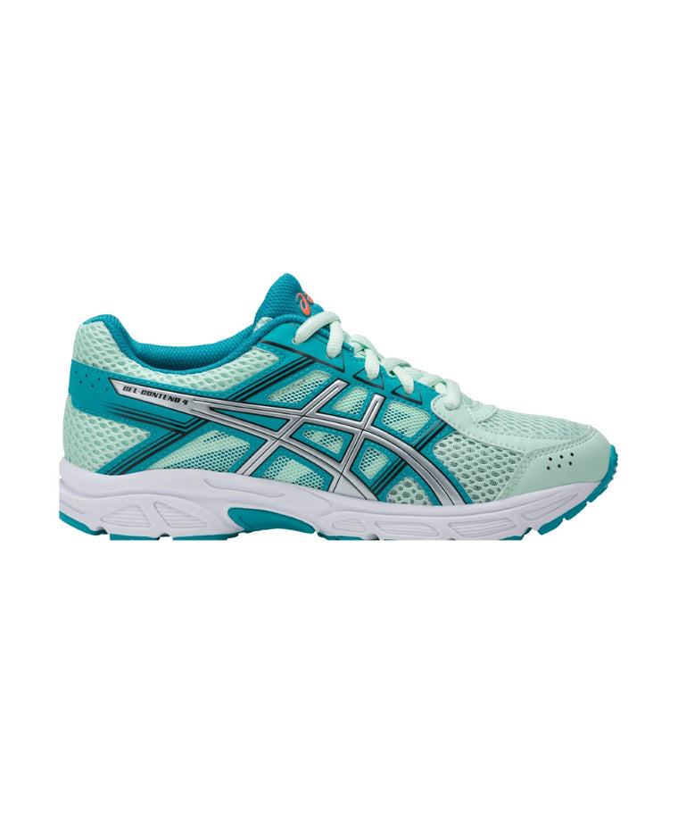 Youth Gel-Contend 4 GS - Glacier Sea/Silver/Aqua C707N6793