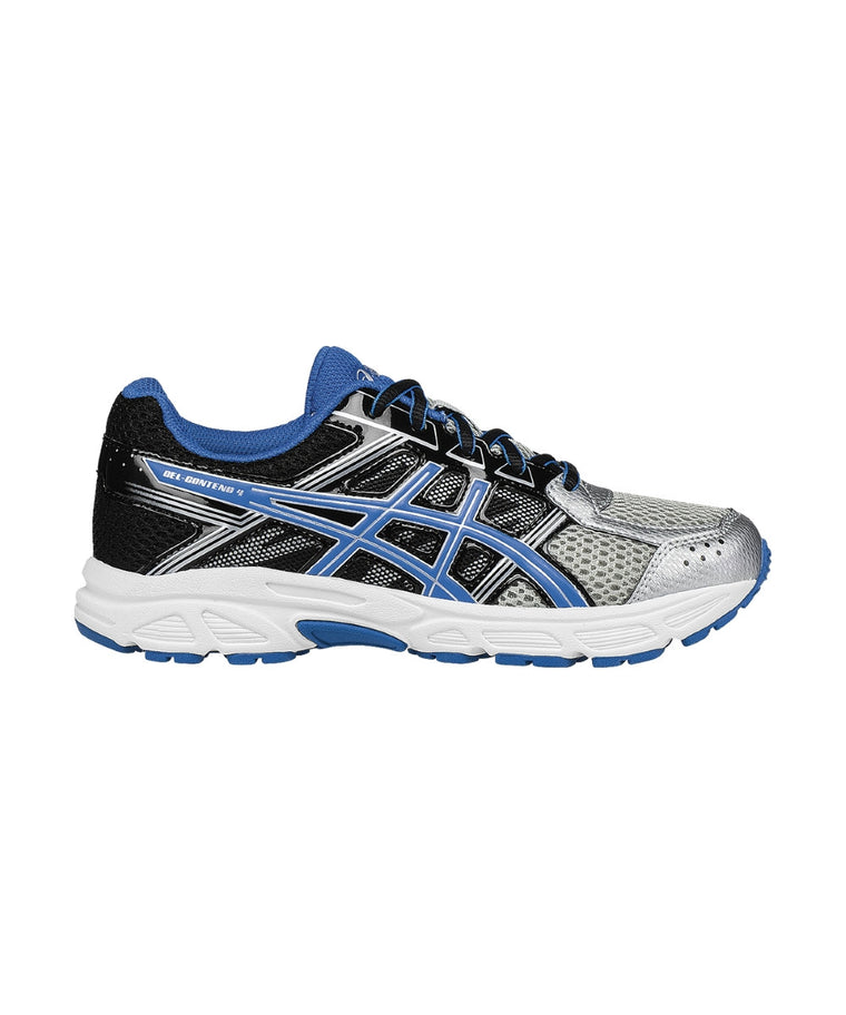 Youth Gel-Contend 4 GS - Silver/Classic Blue/Black C707N9342