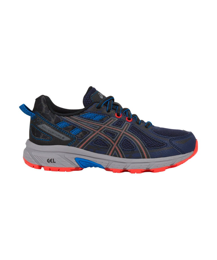 Youth Gel-Venture 6 GS - Indigo Blue/Black/Electric Blue C744N4990