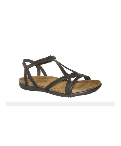 Women's Dorith Sandal - Black Raven Leather 4710B08