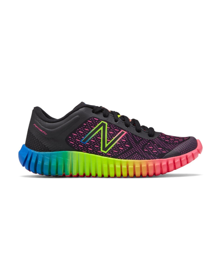 Kid's 99 v2 Trainer - Black/Pink/Rainbow KXM99EPY